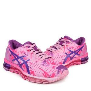 RARE Asics Women GEL-Quantum 360 pink/purple shoes